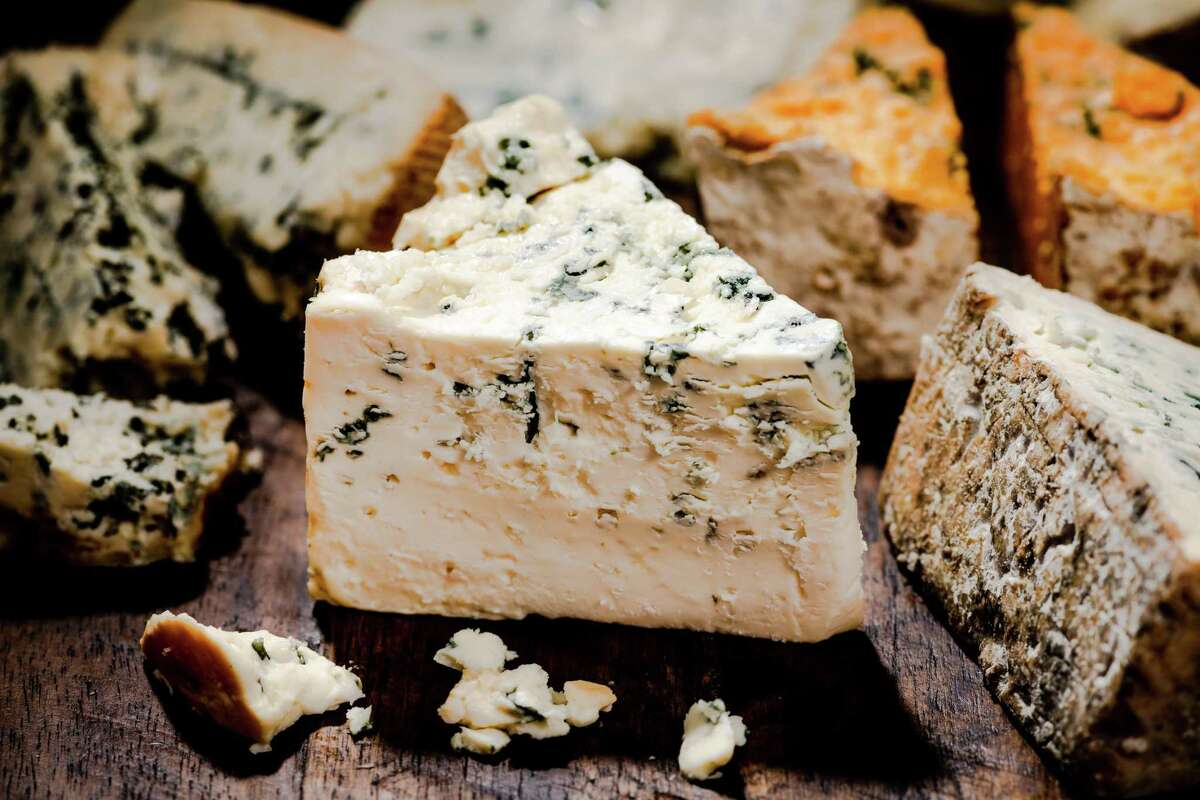 Punchy and crumbly, astringent and flaky, or tangy and creamy as a block of butter, blue cheese can be many things, but it's rarely subtle.
