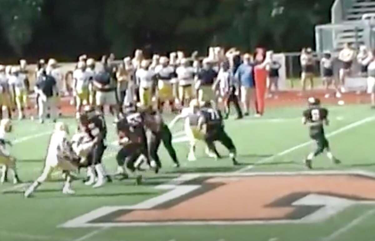 Montville's Chas Tieri returns as the quarterback this season.