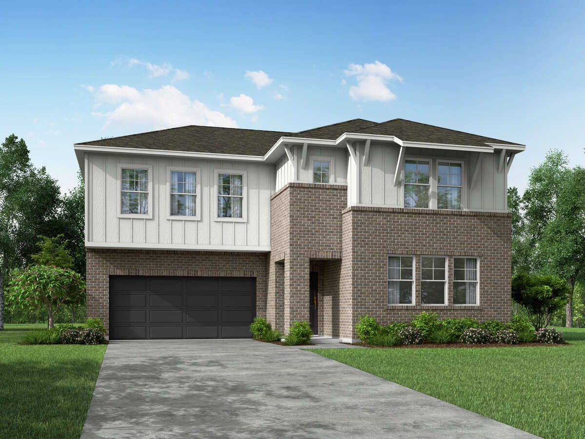 Empire Communities is introducing its new Enclave Series in the Dellrose community in Hockley. Home designs ranging from 1,800 to 2,300 square feet have mid-century, modern elevations.