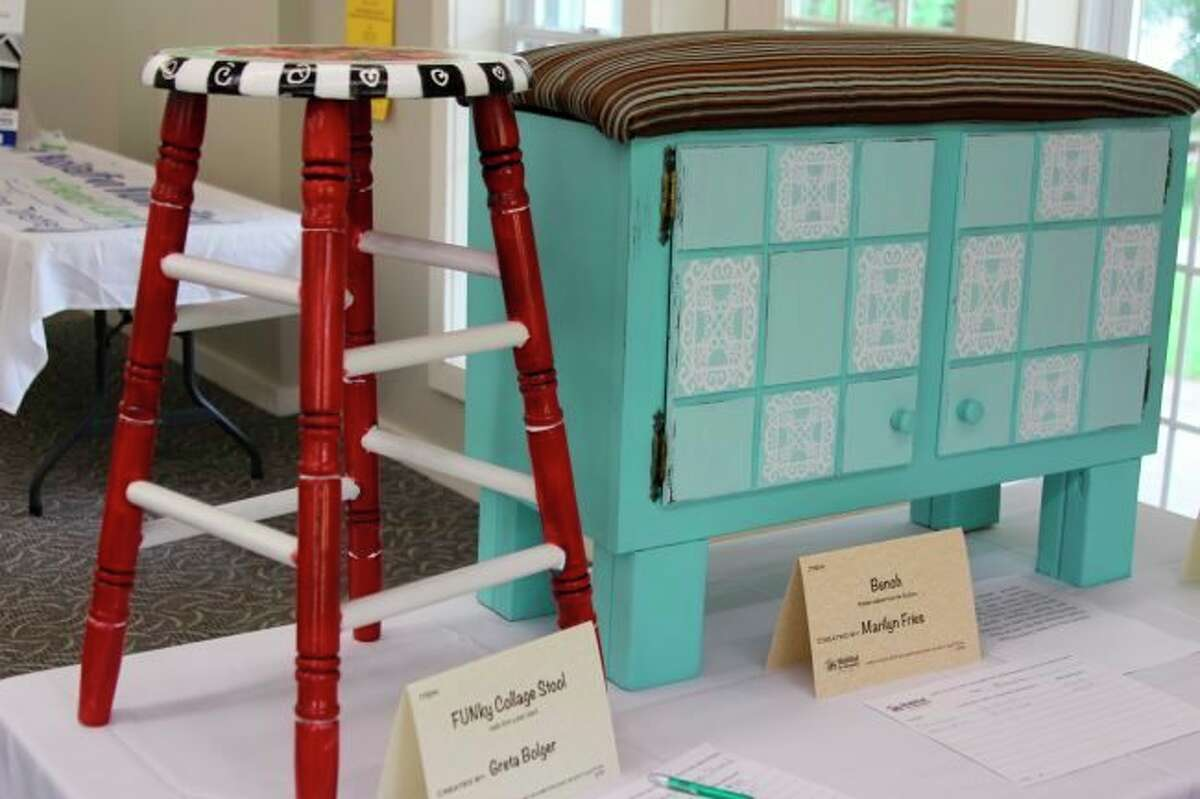 Habitat of Humanity for Benzie County will again be hosting the Upcycled fundraiser, featuring works of art and home décor created using recycled items. (File Photo)