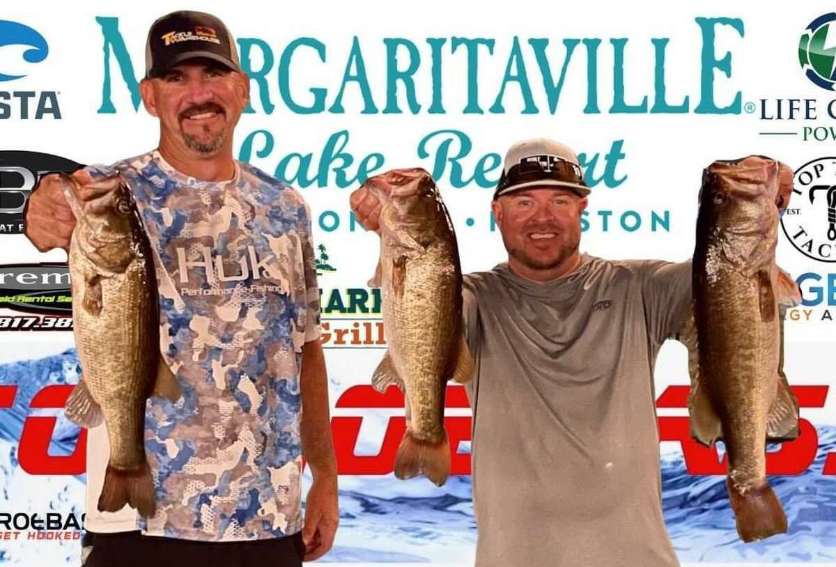 Julian Clepper and Tony Murray came in first place in the CONROEBASS Tuesday Tournament with a weight of 12.37 pounds.