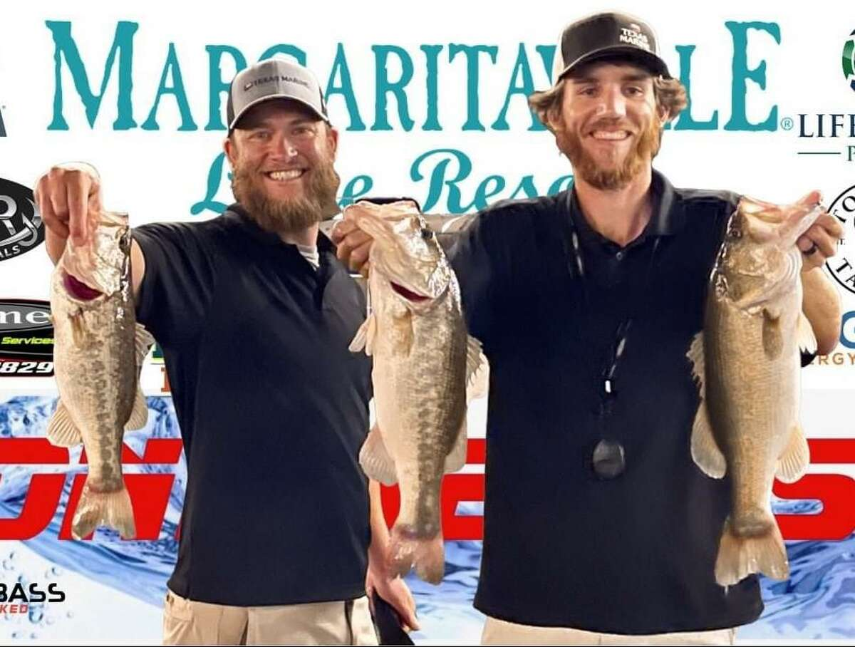 Chris Hebert and Jeremy Knepper came in second place in the CONROEBASS Tuesday Tournament with a weight of 10.00 pounds.
