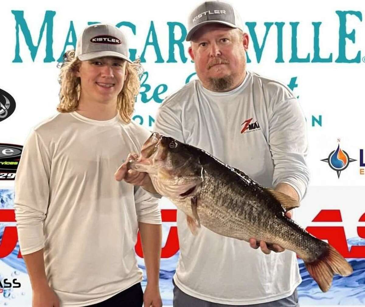 Chris and Jaxon Bohac came in third place in the CONROEBASS Tuesday Tournament with a weight of 8.53 pounds.