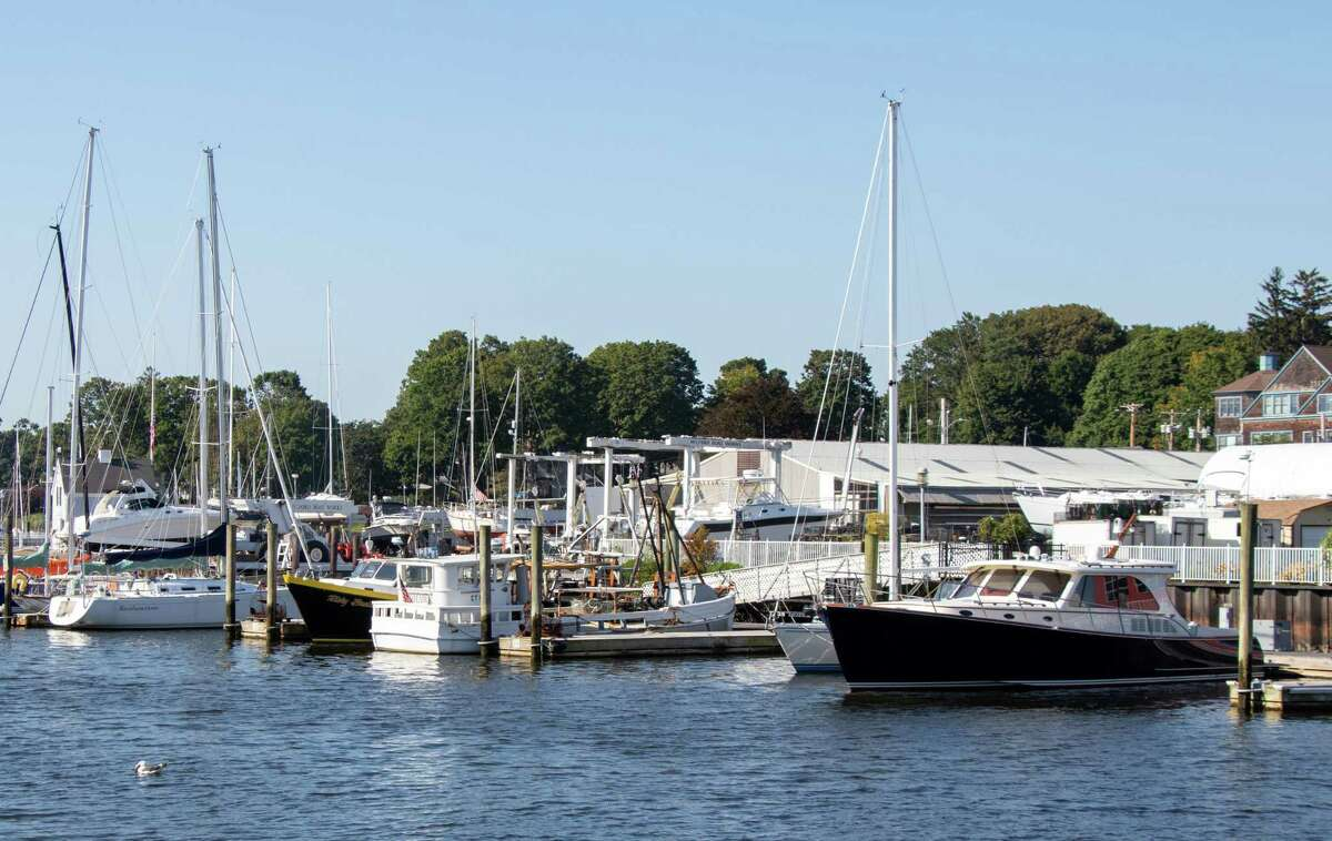 The marinas around Milford Harbor had a steady stream of local and non-local visitors over Labor Day weekend.