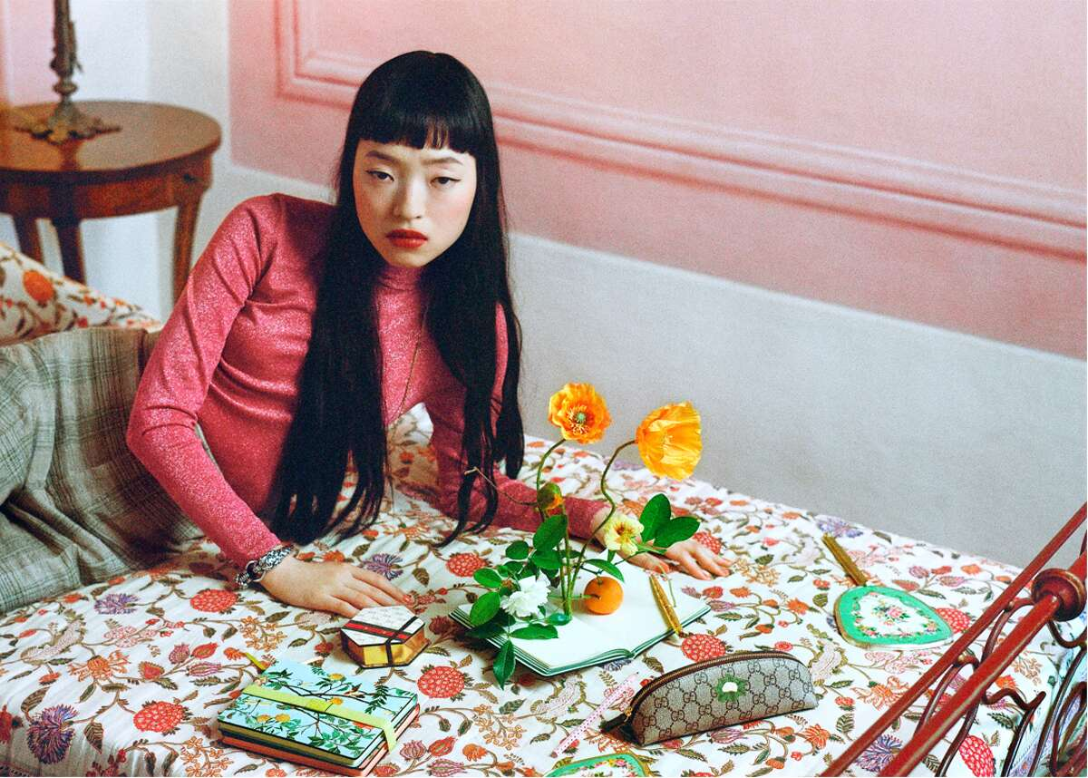 Creative Director Alessandro Michele designed notebooks, pajamas, slippers, card games and more forthe Gucci lifestyle collection launching online Sept. 10.