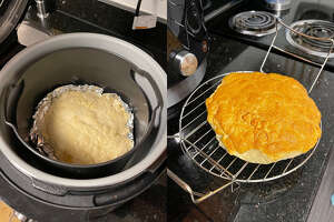 Making bread in the Foodi is easy peasy.