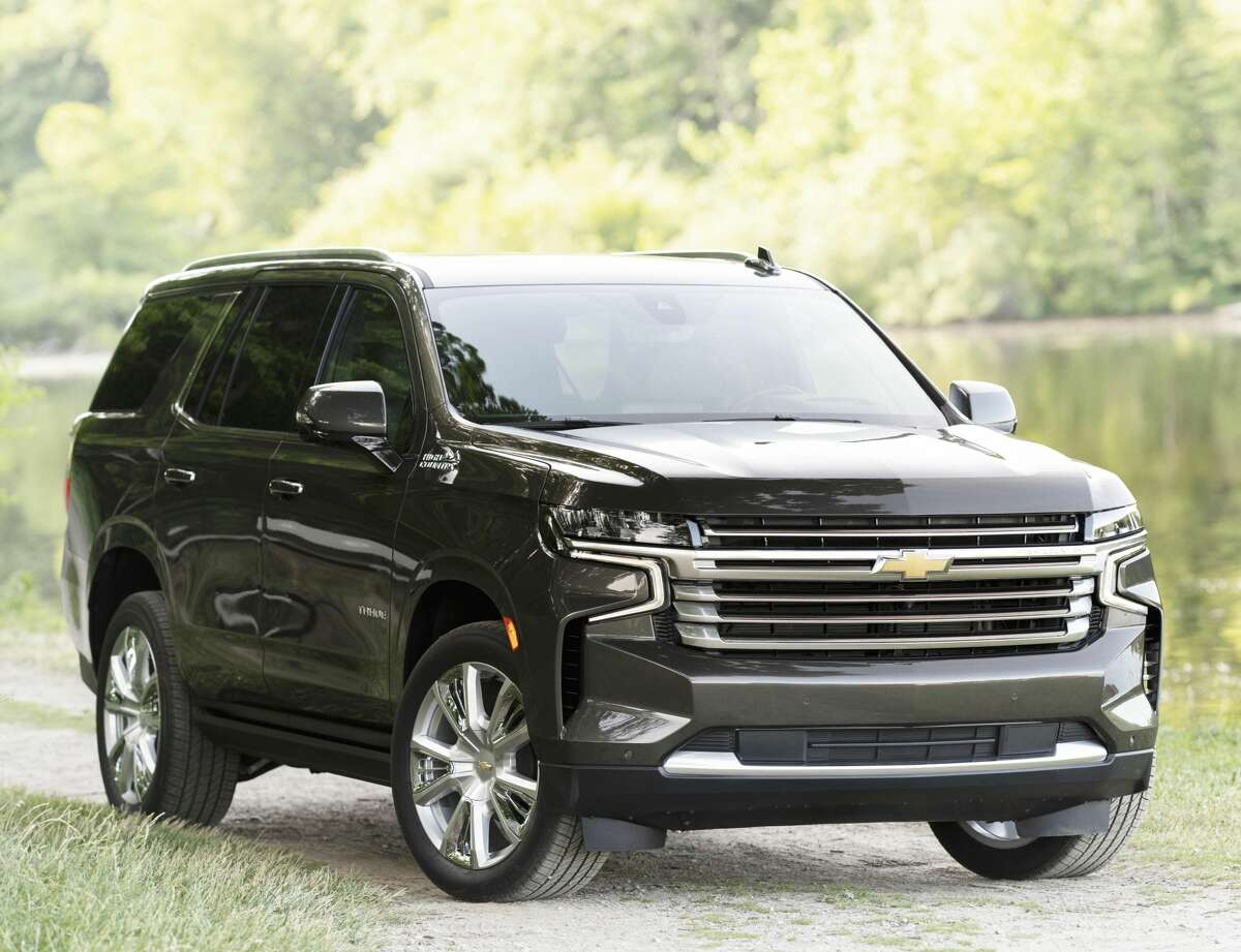 The Chevrolet Tahoe, shown here in the High Country version, has been completely redesigned for 2021.