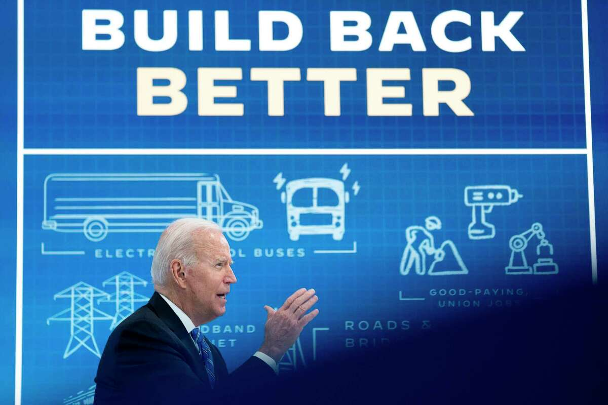 A reader says Democrats need to go big on progressive initiatives, pressing ahead with infrastructure, expanding the Supreme Court and doing away with the filibuster. President Joe Biden makes his case for Build, Back, Better this summer.