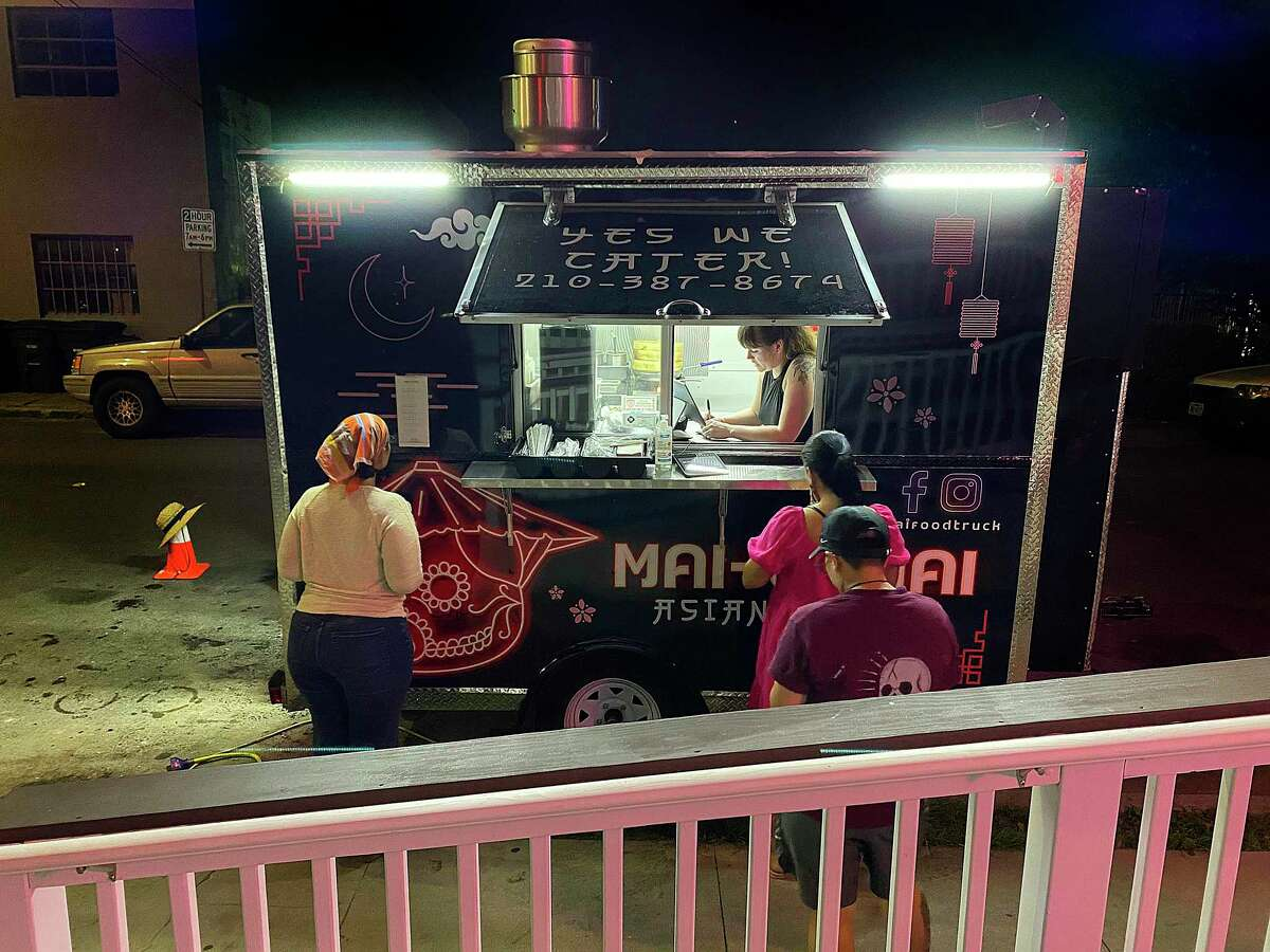 Mai-O-Mai is a food trailer specializing in Asian-Mexican fusion cooking in San Antonio.