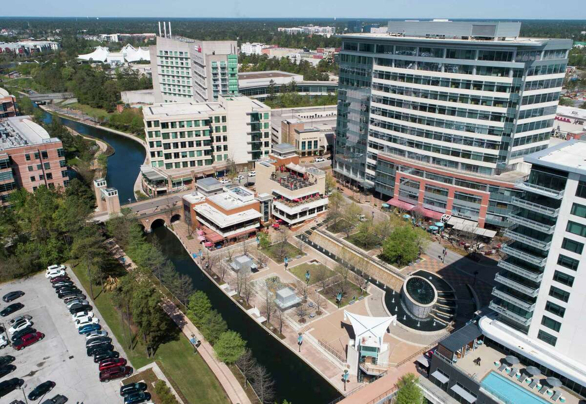 The Woodlands Waterway is seen, Thursday, March 25, 2021, in The Woodlands.
