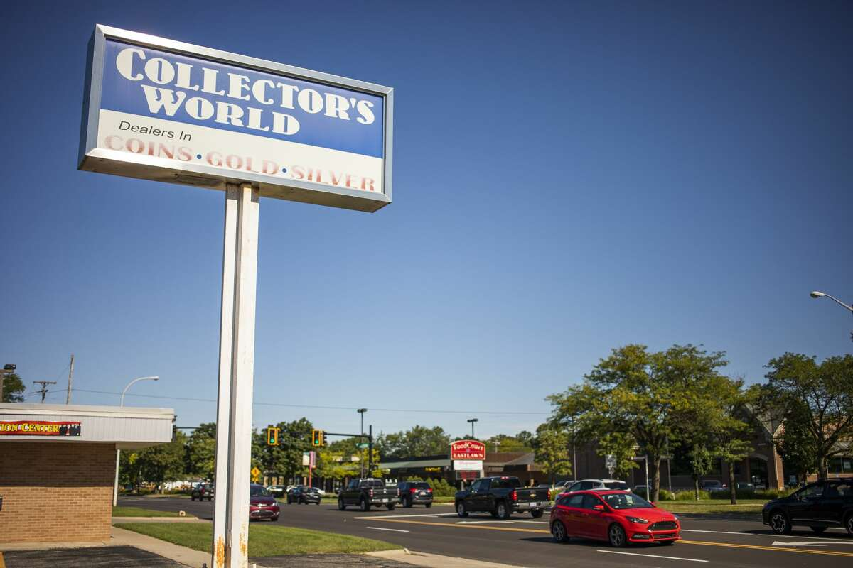 Collector's World, located at 1020 S. Saginaw Rd. in Midland, celebrates its 40th anniversary this month. (Katy Kildee/kkildee@mdn.net)