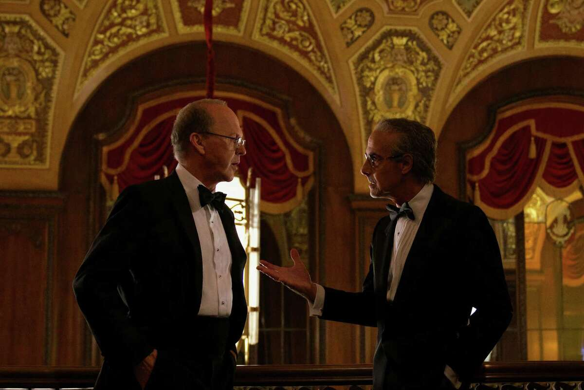 """Michael Keaton and Stanley Tucci in """"Worth."""""""