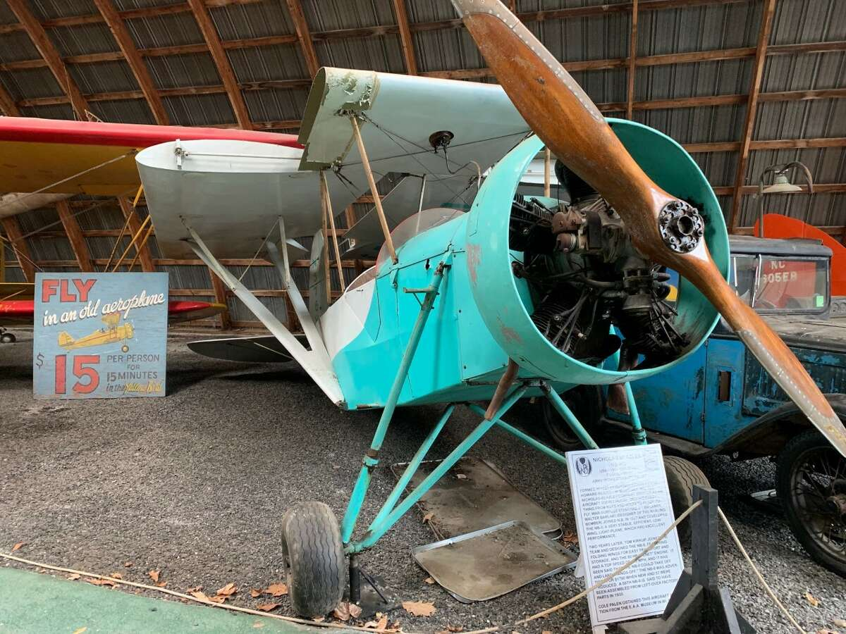 One of the country's largest collections of vintage aircraft can be found at the Old Rhinebeck Aerodrome in Red Hook, N.Y.