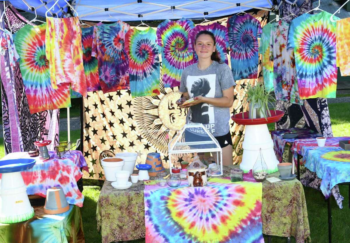 A vendor at Celebrate New Hartford, a community day, in 2019. This year, the town is holding New Hartford Night Sept. 18 from 3-9 p.m. at Brodie Park. Vendors have again been invited to participate.