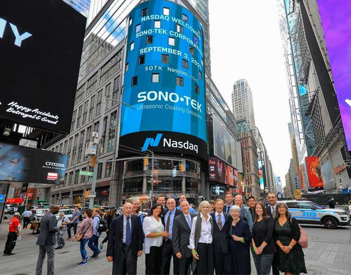 Sono-Tek, which is run by a former GE executive, was recently listed in the NASDAQ stock exhange.