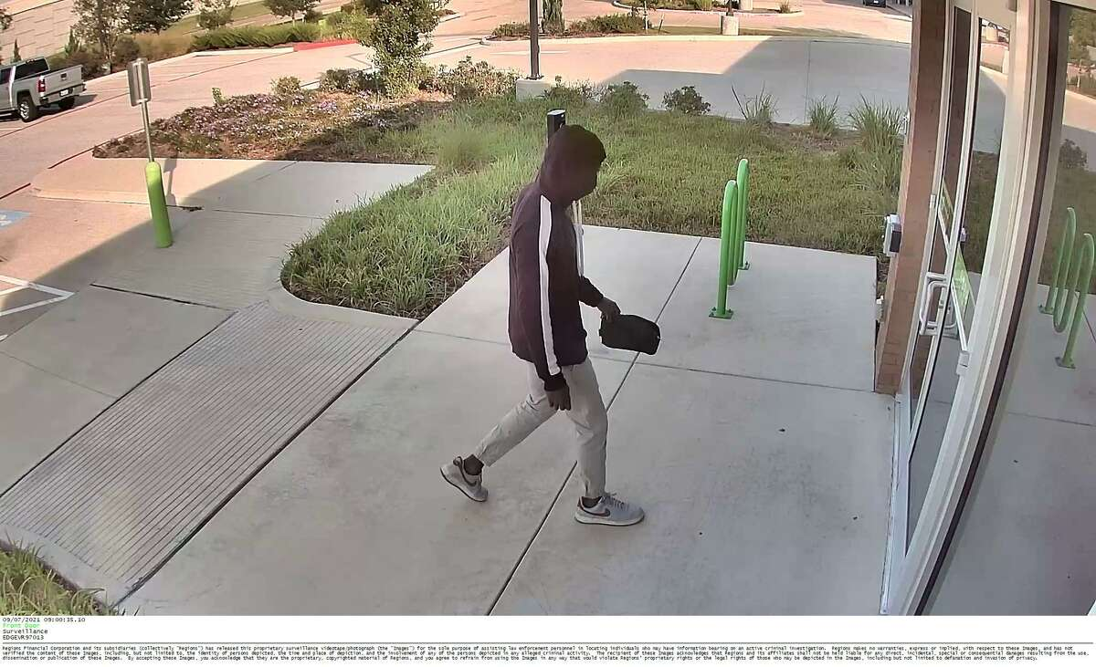 The FBI Houston Field Office and Houston Crime Stoppers are seeking the public's help in identifying a bank robbery suspect. The suspect reportedly robbed the Regions Bank at 18801 Somerled Avenue in Richmond, Texas, on Tuesday, Sept. 7, 2021. He is suspected in at least two other area robberies as well.