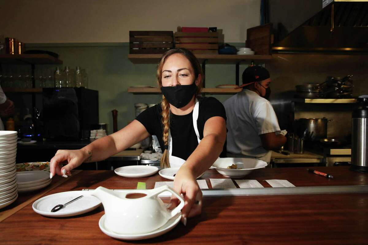 Chef Priscilla Przygocki, formerly of Hotel Nikko, is in charge of the kitchen.