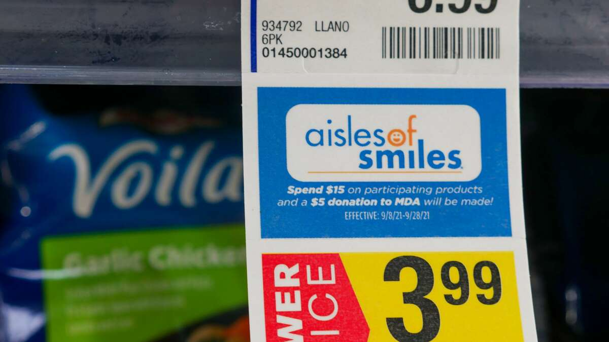 The Aisles of Smiles campaign is underway at The United Family locations.