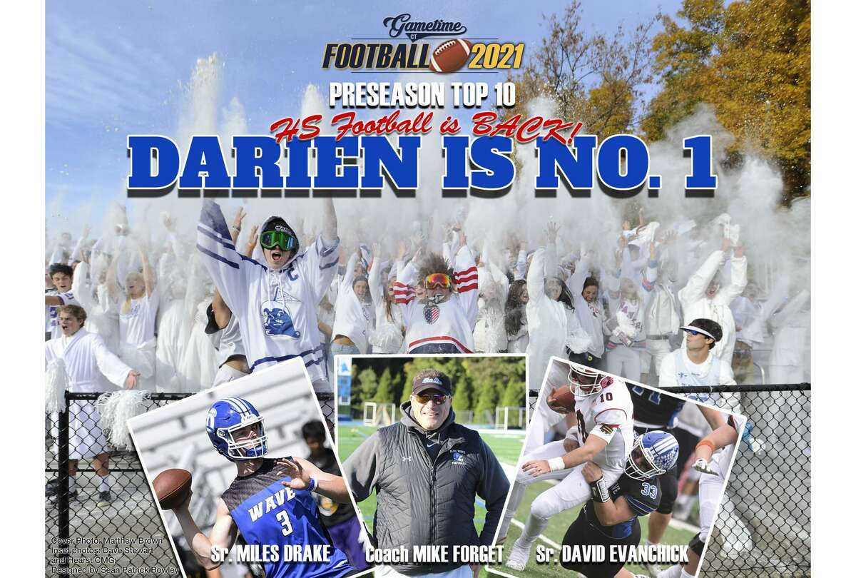 High school football returns to Connecticut this fall after its cancelation during the 2020 pandemic year.DARIEN,led by seniors Miles Drake, David Evanchick and new coach Mike Forgetis the GameTimeCTPreseason No. 1.