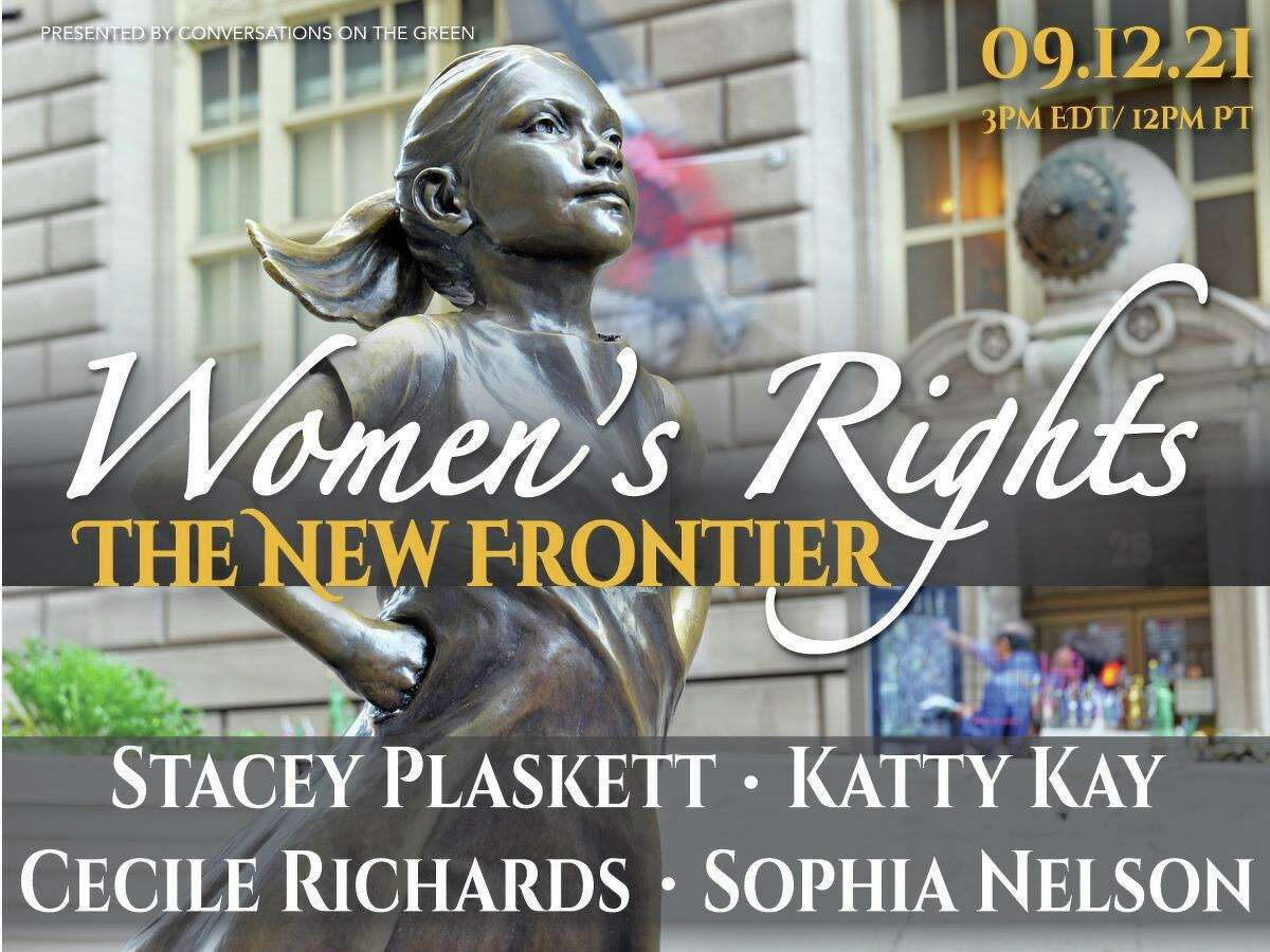 Conversations on the Green's next forum features four women panelists discussing the women's rights movement.