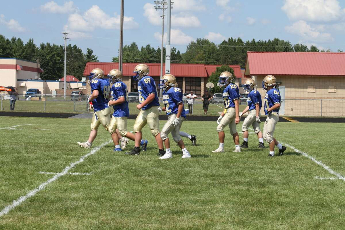 Onekama takes on Bear Lake in a scrimmage before the 2021 season.