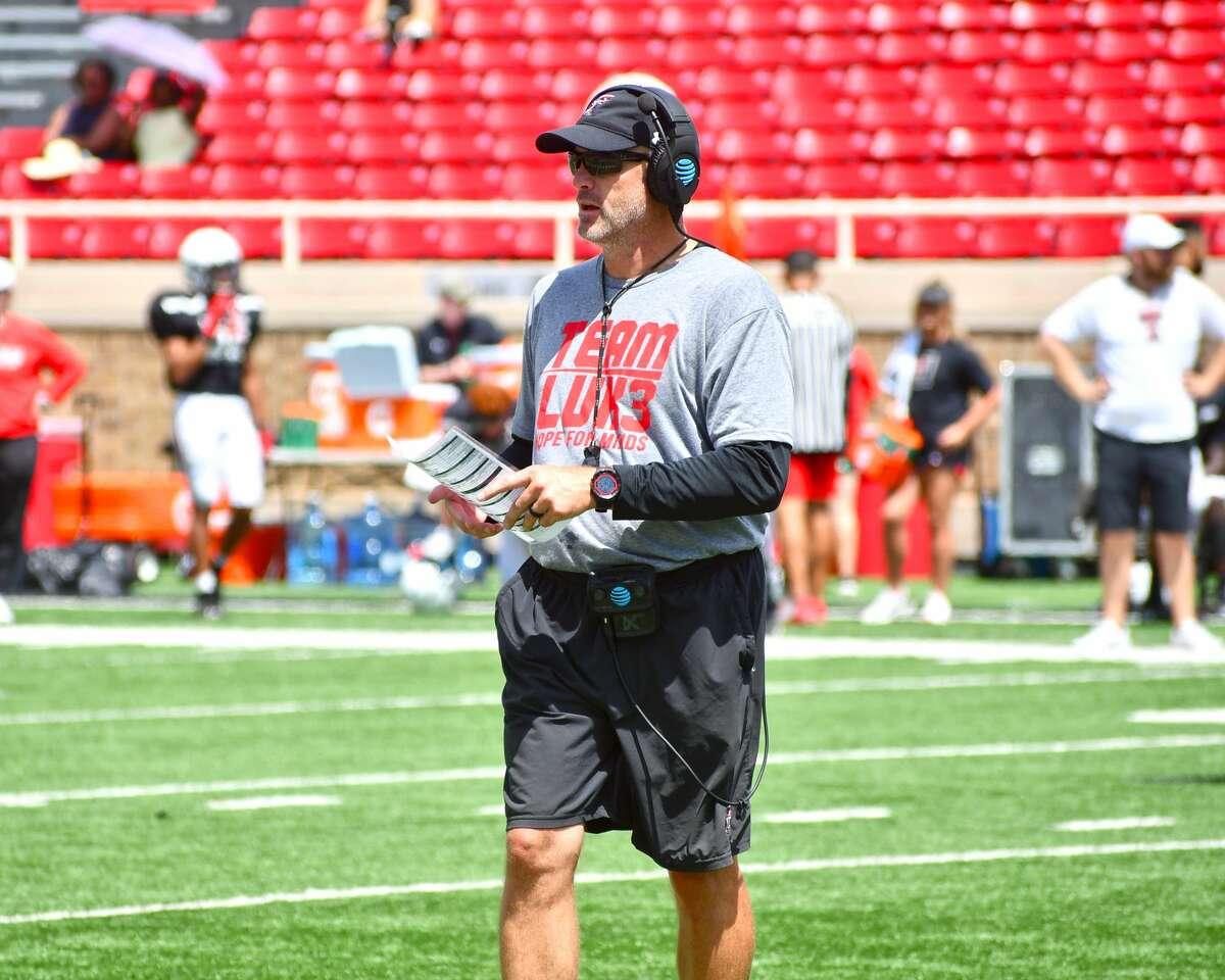 Texas Tech head coach Matt Wells and the Red Raiders will make their home debut on Saturday night against Stephen F. Austin.