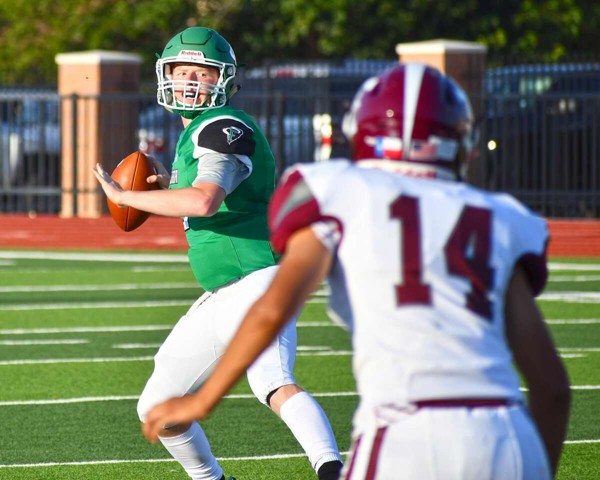 Trace Glasscock and the Floydada football team will look to get into the win column against Smyer.