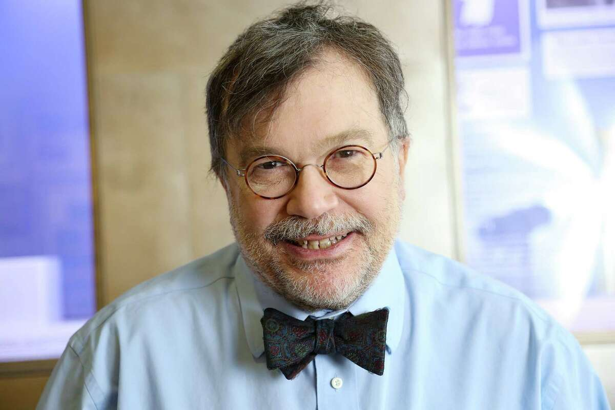 Dr. Peter Hotez at the Michael E. DeBakey Library and Museum in Houston on Thursday, Jan. 28, 2021.