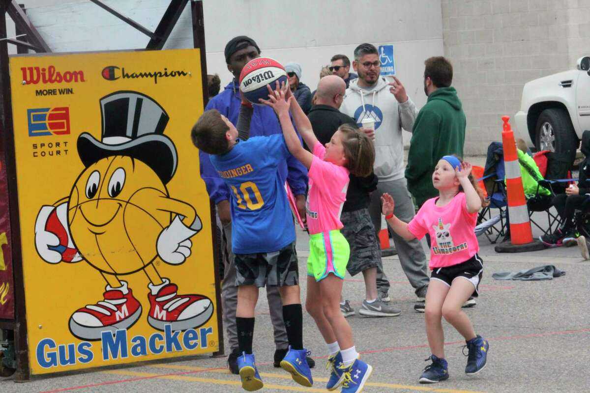 The Gus Macker basketball tournament will be in downtown Big Rapids this weekend. (Pioneer file photo)