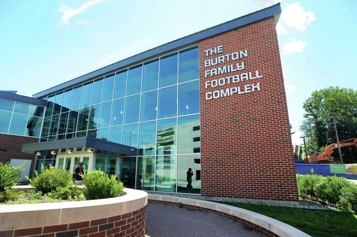 The Burton family Football Complex on University of Connecticut campus in Storrs, Conn. on Monday August 6, 2012.