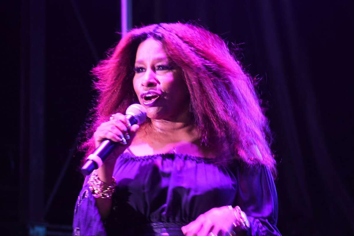 Stamford Downtown's Wednesday Nite Live series featured Chaka Khan at Mill River Park on Sept. 8, 2021 Were you SEEN?