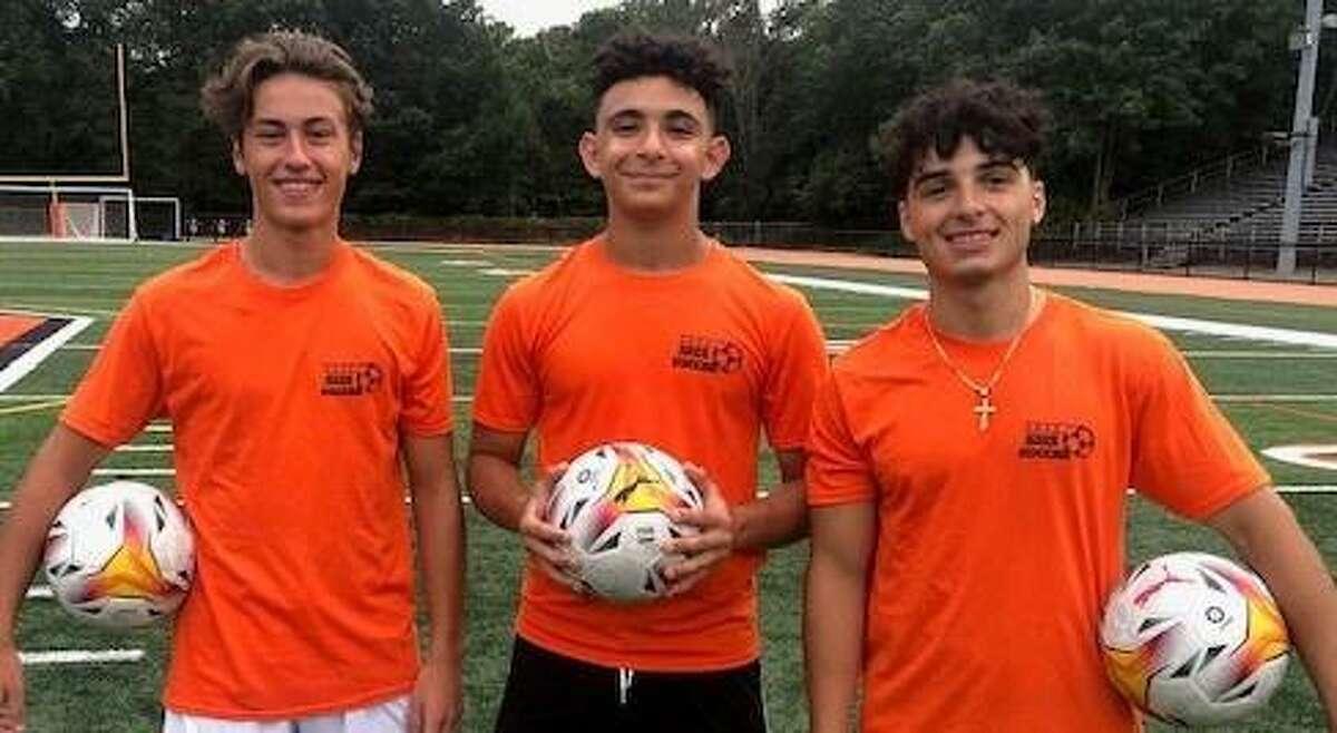 Seniors Landon Stevens, Sami Sobh and Matt Moura-Sanchez will captain Shelton's boys' soccer team.