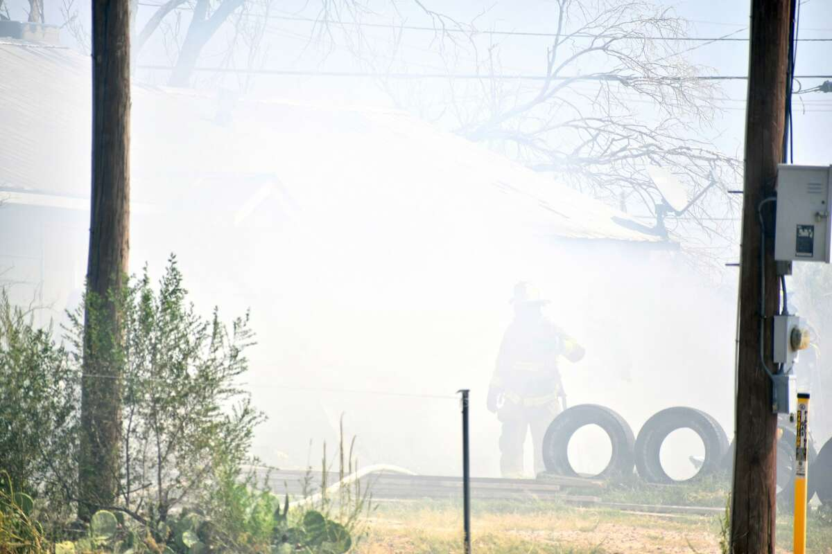 The Plainview Fire Department responded to a fully involved structure fire at the 1100 block of E. 4th Street on Wednesday, Sept. 8.