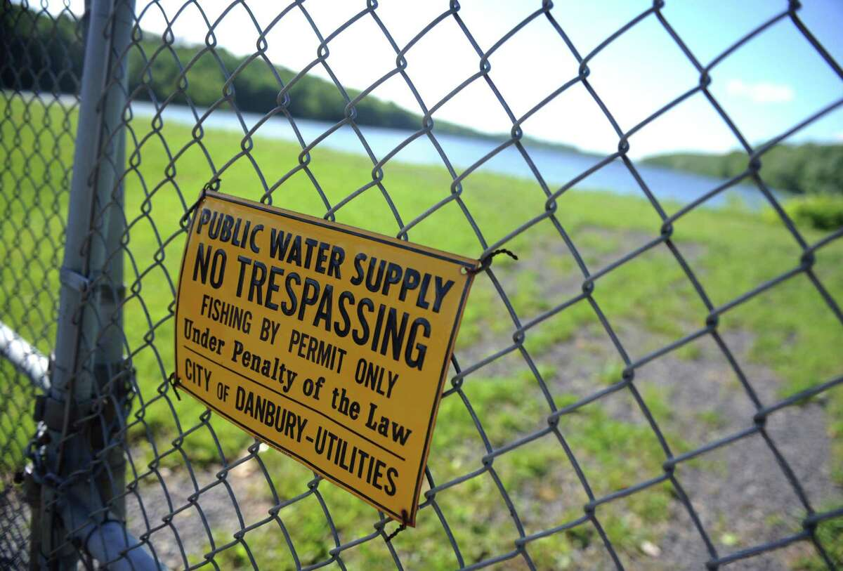 A view of the Margerie Reservoir in New Fairfield, Conn. Saturday, May 31, 2014. Algae blooms at the Margerie Reservoir caused Danbury to violate water standards in July 2021.