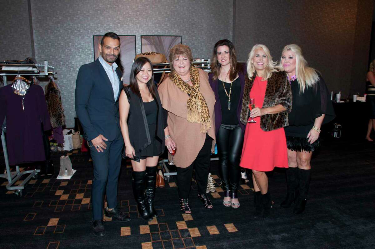 The Spring Branch Education Foundation's fifth annual Style Show and Luncheon fundraiser took place in 2015. From left to right, Style Show Producer Todd Ramos, designer Chloe Dao, SBEF executive director Cece Thompson, designer Elaine Turner, and co-chairs Patty Busmire and Lara Bell. The 2021 SBEF Style Show and Luncheon fundraiser will take place on Sept. 17 at the Royal Sonesta hotel and has already sold out.