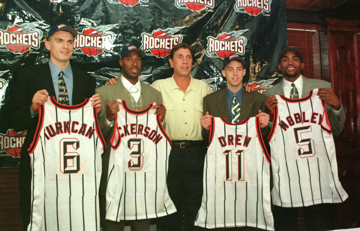 In 1998, the Rockets passed on Rashard Lewis three times, drafting Mirsad Turkcan, Michael Dickerson and Bryce Drew in the first round. They actually got it right in the second round, getting Cuttino Mobley at No. 41.