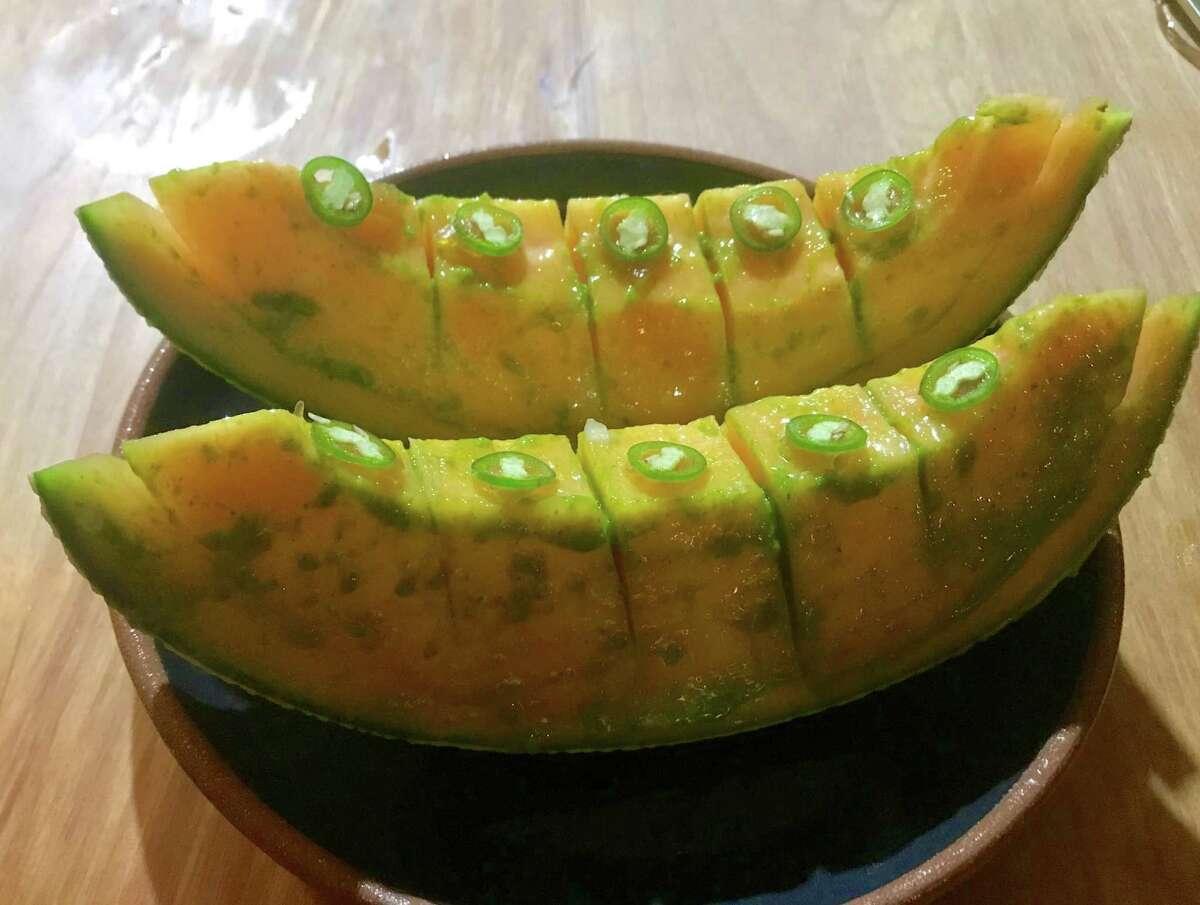 Tuscan melon at Theodore Rex