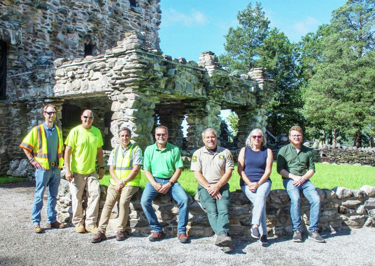 Visitors to Gillette Castle State Park in East Haddam can view recent changes at William Gillette's eccentric, century-old home that serves as the park's centerpiece.