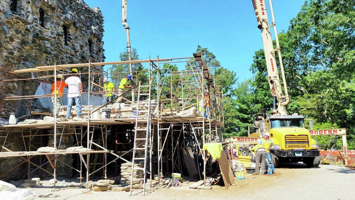 The second part of multi-phase improvement project was just completed at Gillette Castle in East Haddam.