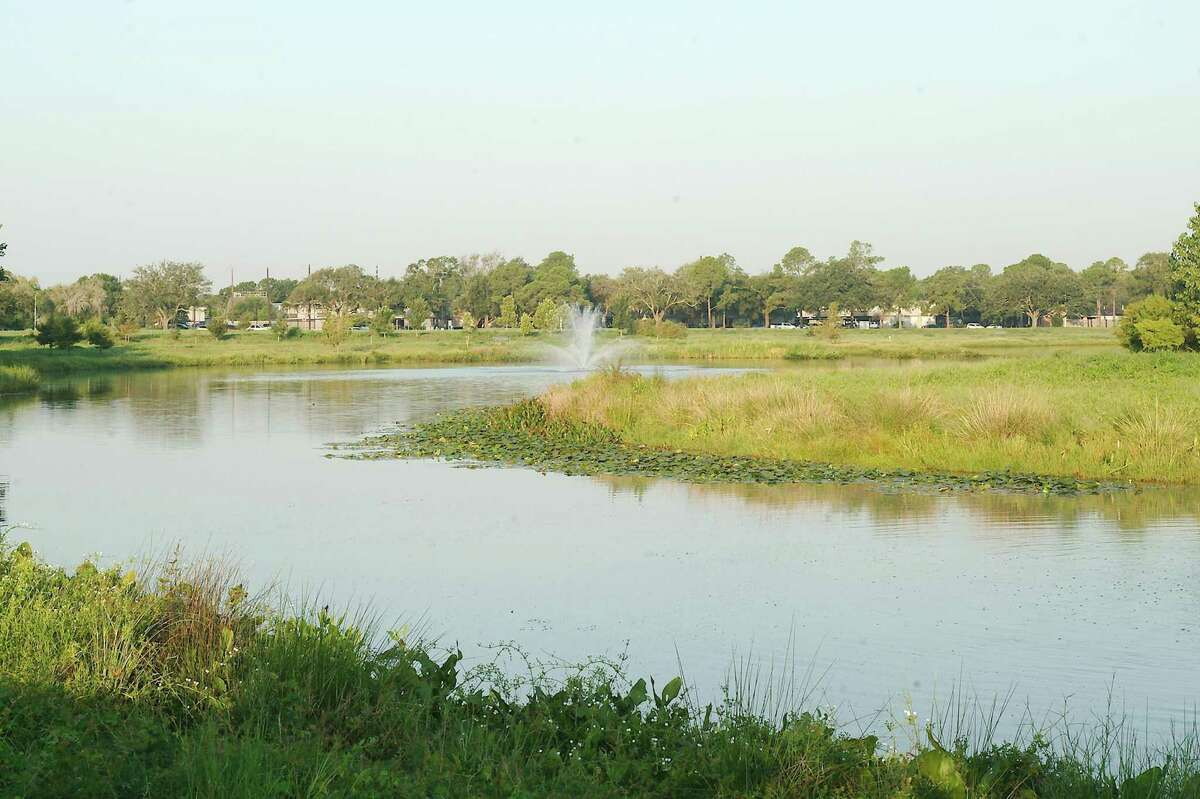 The lakes at Exploration Green have proven useful in preventing flooding of area neighborhoods.