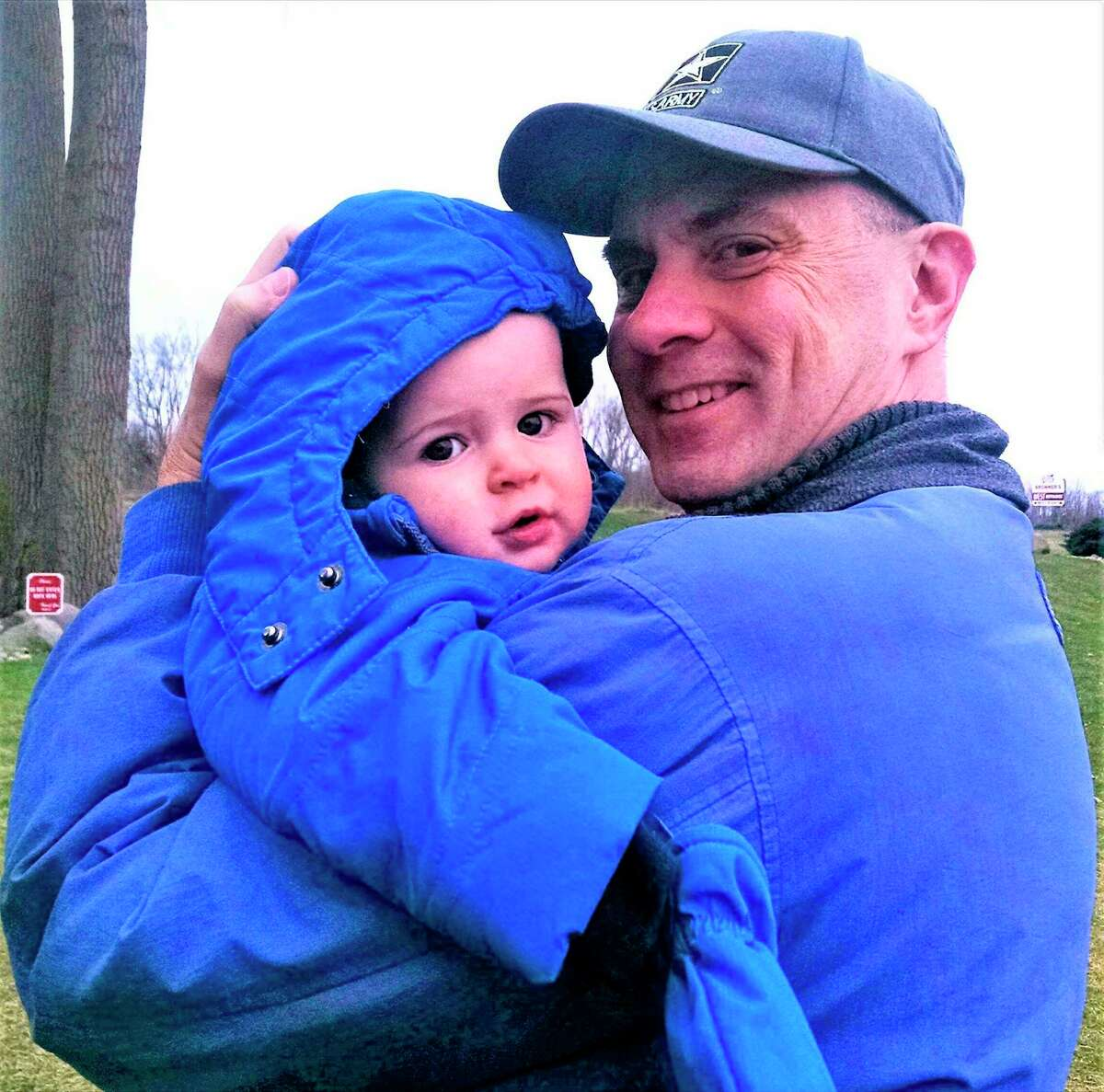 Gary Glenn is pictured with his grandson. (Photo provided)