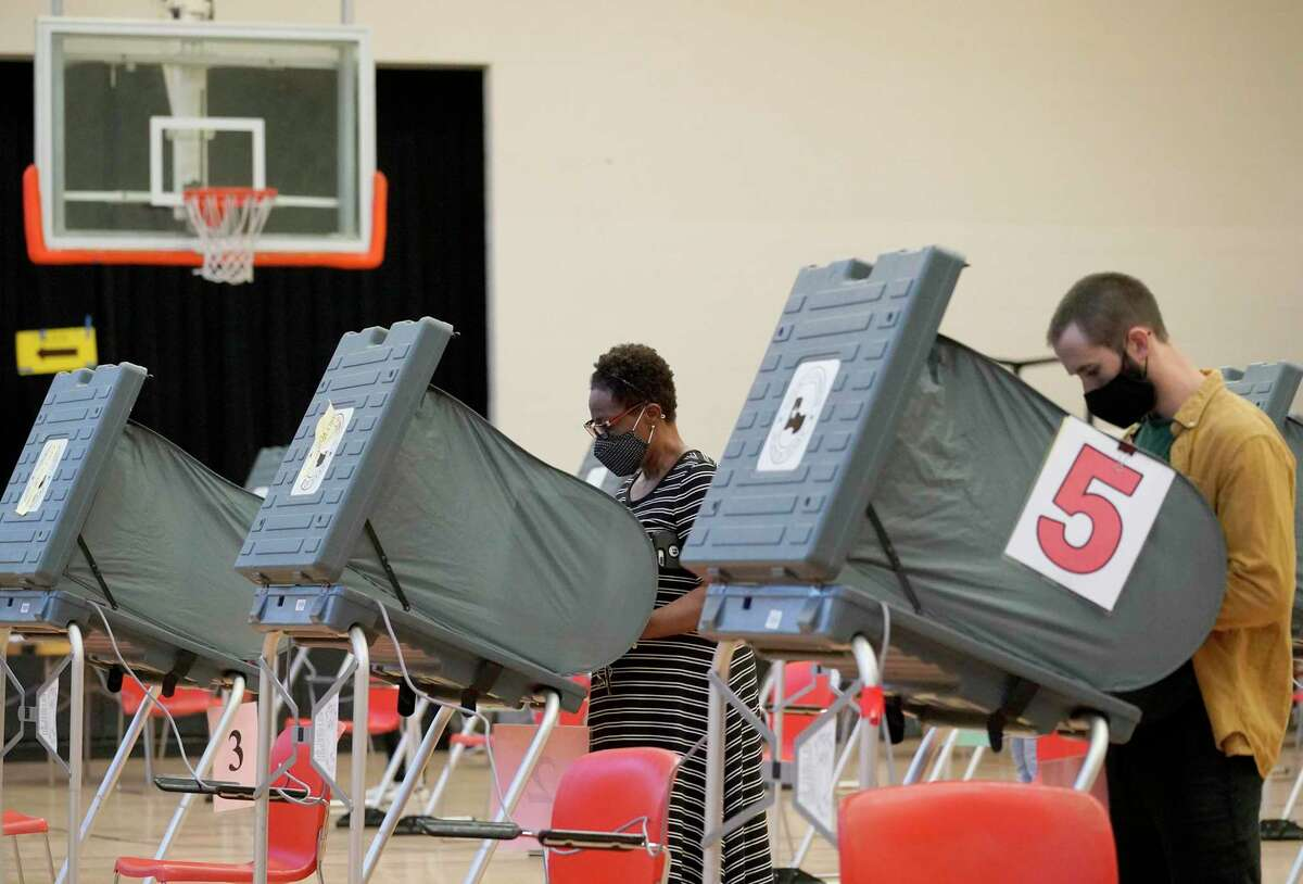 Voters cast ballots in Houston last year. As redistricting begins this month, will lawmakers opt for fair representation? Be vigilant.
