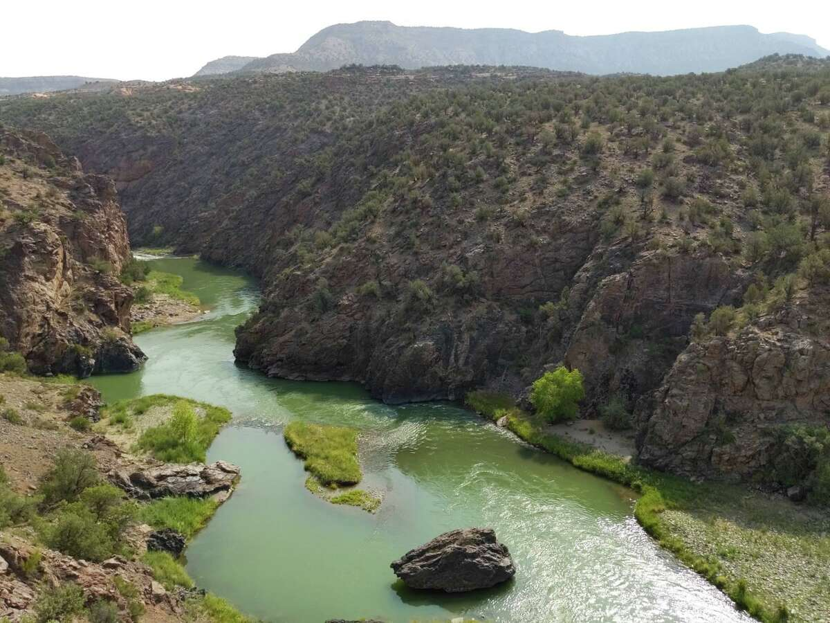 The Gunnison Gorge is a stunning sight in western Colorado