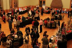 Pictured in this file photo is the 2017 Festival of Trees at the Ramsdell Regional Center for the Arts in Manistee. The Lakeside Club of Manistee will be taking over the organization of the event from the Manistee Area Chamber of Commerce. (File photo)