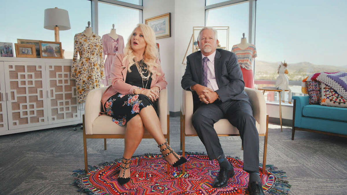 """DeAnne and Mark Stidham, co-founders of the direct sales company LuLaRoe, appear on the Amazon Prime documentary series """"LuLaRich."""""""