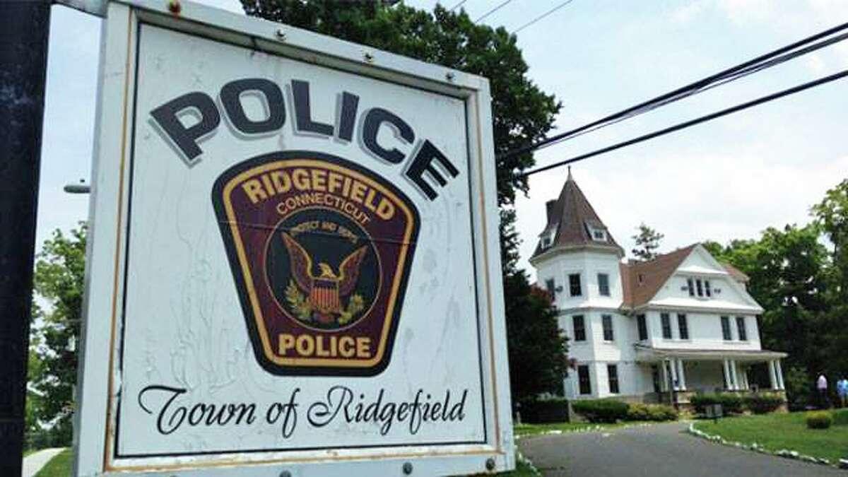 Police headquarters on East Ridge Road in Ridgefield, Conn.