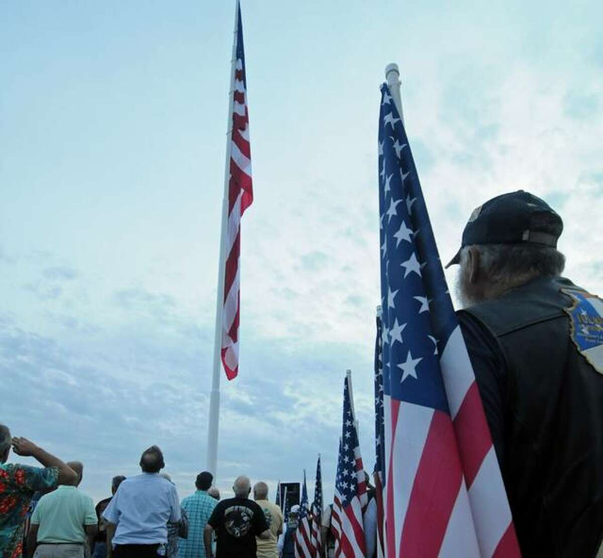Grafton officials and American Legion Post 648 will host a 9/11 ceremony at 8:30 a.m. Saturday, Sept. 11, by the large American flag on the Grafton riverfront. Several communities and veterans organizations are planning events this weekend.