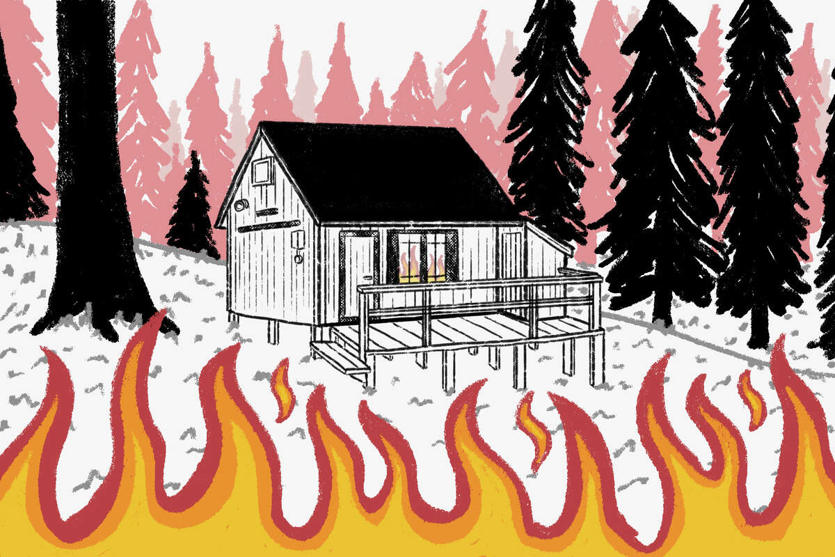 In 1941, the Ward family built a cabin in the woods with lumber from Caldorin the Eldorado National Forest. Eighty years later, the Caldor Fire destroyed it.
