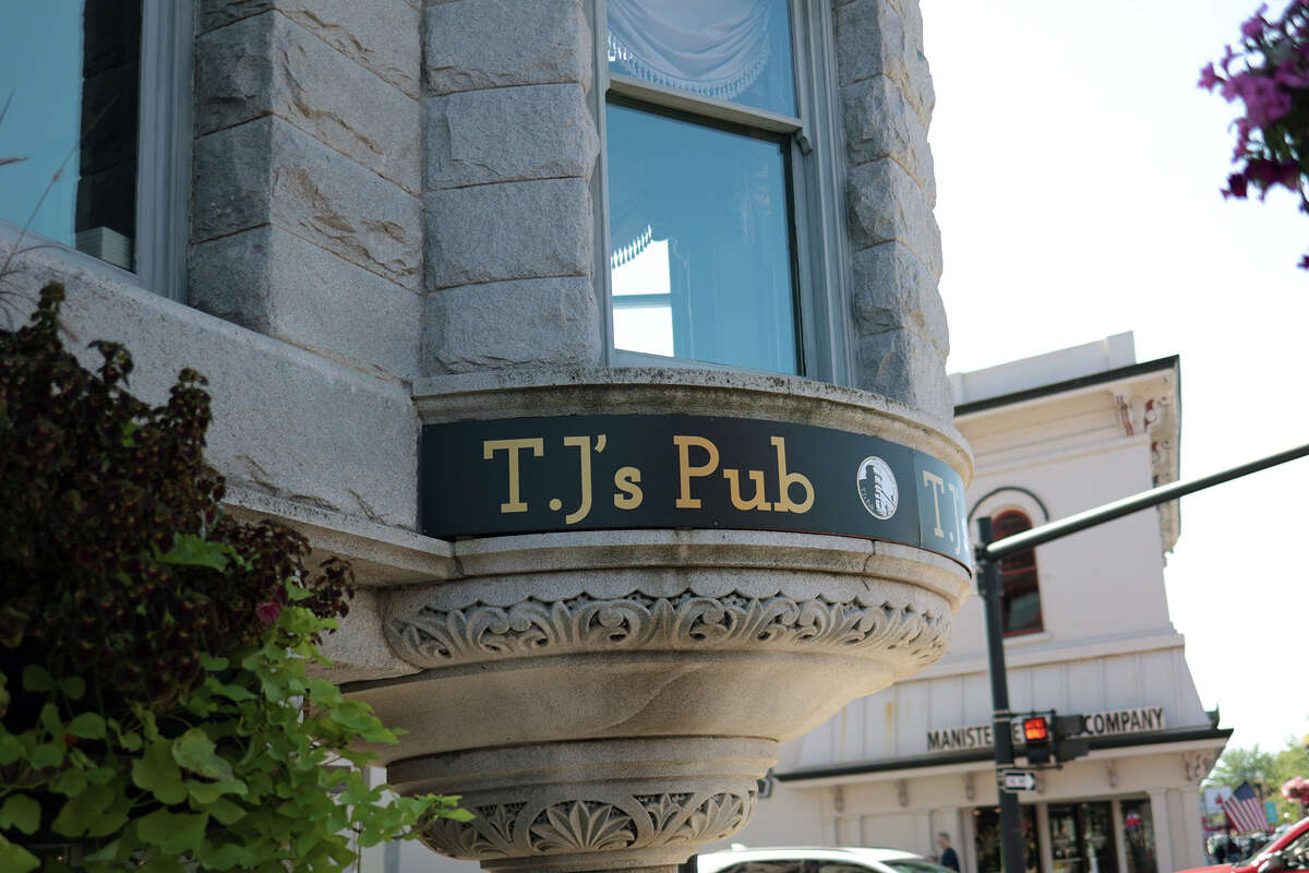 TJ's Pub is one of four restaurants participating in Manistee's social district. The other three are North Channel Brewing Company, Taco 'Bout It Mexican Fusion and the Blue Fish Kitchen + Bar