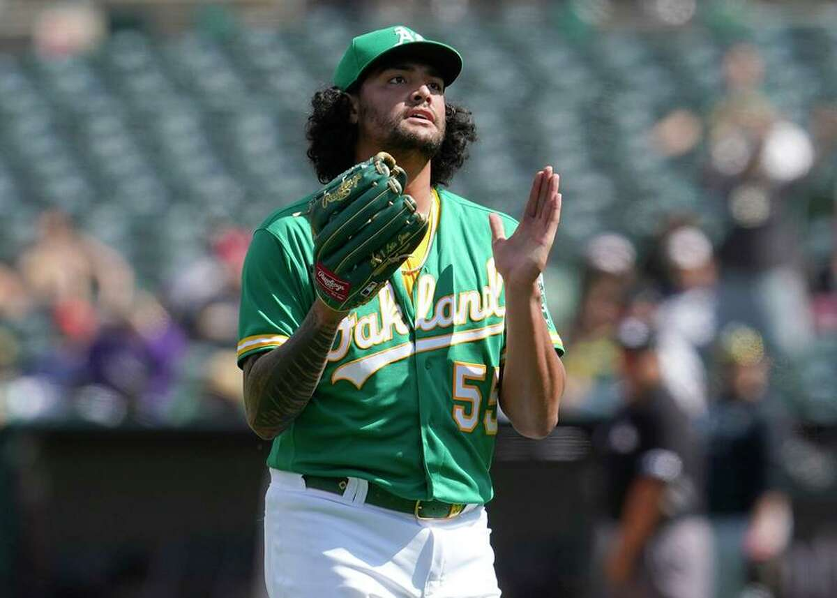 After a rough August, left-hander Sean Manaea has had back-to-back strong outings - the latest against the White Sox.